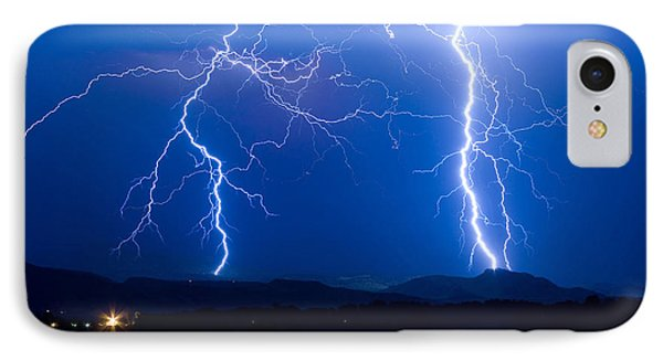 Lightning Storm 08.05.09 Phone Case by James BO  Insogna