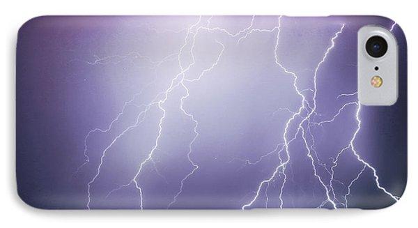 Lightning Storm North Scottsdale Az 85255 Phone Case by James BO  Insogna