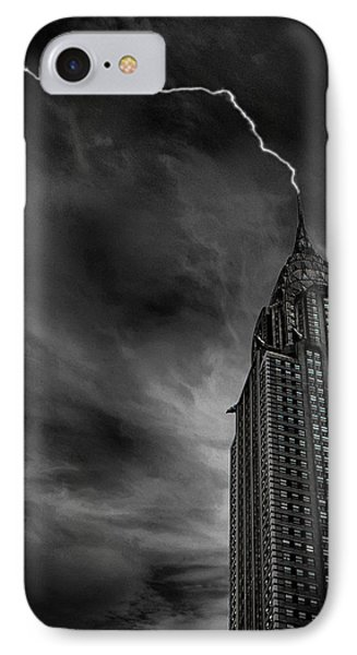 Lightning Strike IPhone Case by Martin Newman
