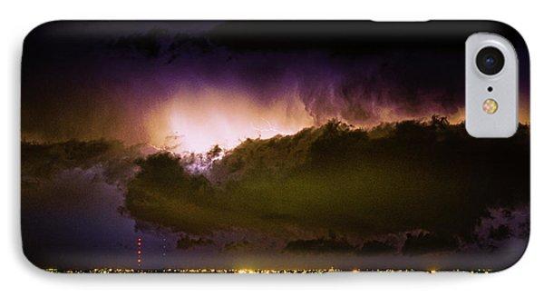 Lightning Thunderstorm Cloud Burst Phone Case by James BO  Insogna