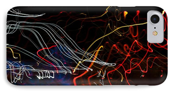 Lights Abstract1 Phone Case by Svetlana Sewell