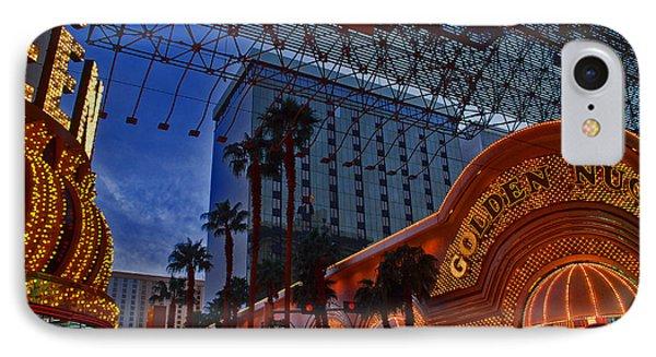 Lights In Down Town Las Vegas IPhone Case