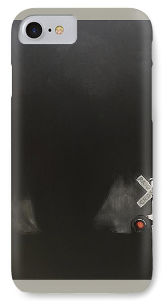 Like A Freight Train IPhone Case by Jeffrey Bess