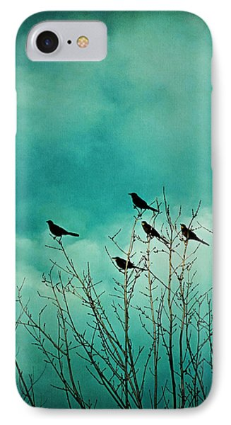 IPhone Case featuring the photograph Like Birds On Trees by Trish Mistric