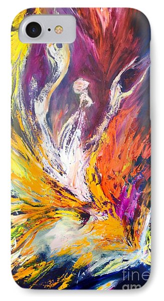 Like Fire In The Wind IPhone Case by Marat Essex