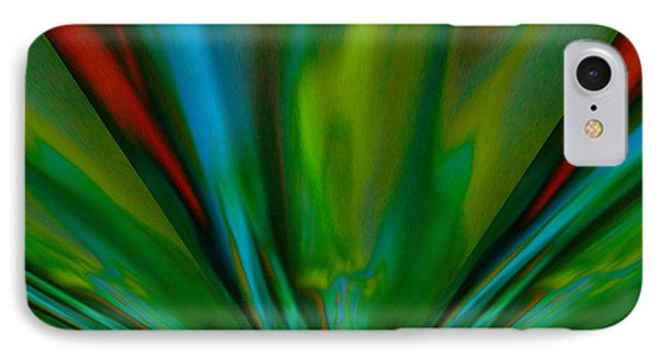 Like Rays Gliding Across The Sky IPhone Case by Jeff Swan