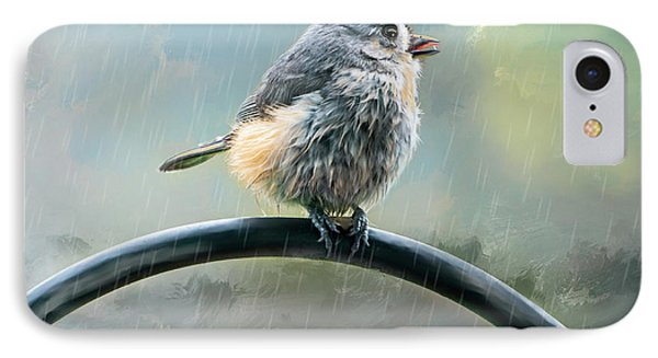 Lil Tit Mouse's Morning Shower IPhone Case