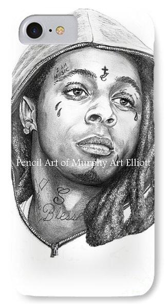 Lil Wayne IPhone Case by Murphy Elliott