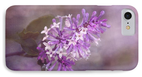 Lilac Blossom IPhone Case by Tom Mc Nemar