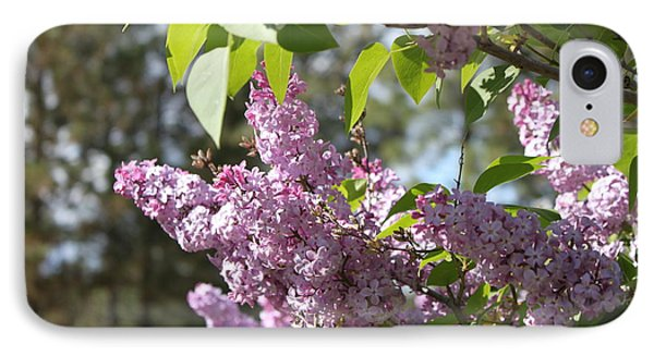 IPhone Case featuring the photograph Lilacs 5545 by Antonio Romero