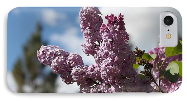 IPhone Case featuring the photograph Lilacs 5547 by Antonio Romero