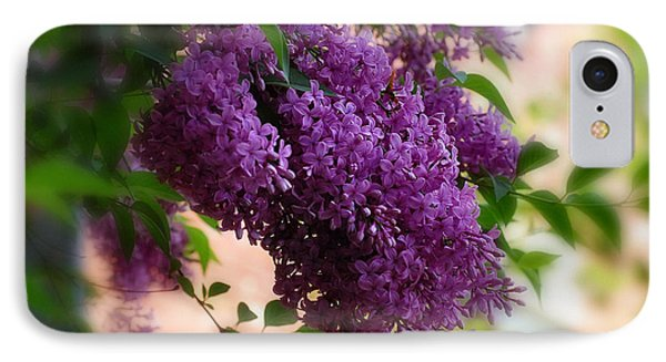 IPhone Case featuring the photograph Lilacs by Elaine Manley