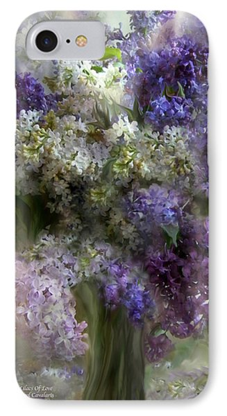 Lilacs Of Love IPhone Case