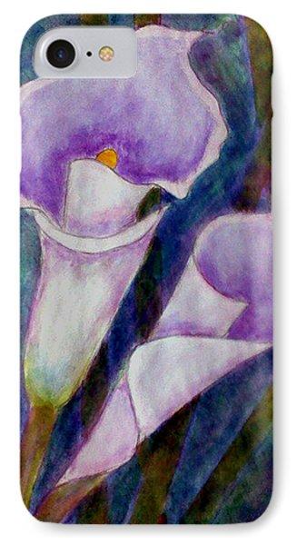 Lilium Calas IPhone Case by Madalena Lobao-Tello