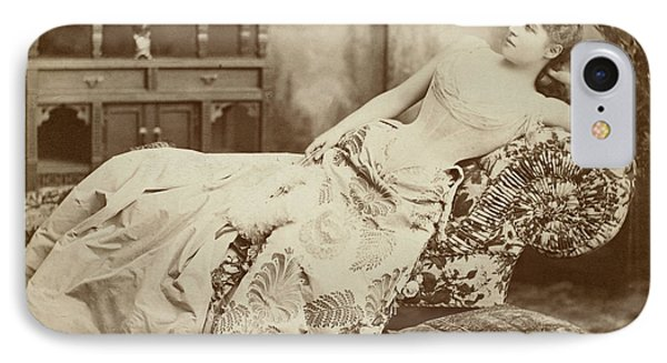 Lillie Langtry (1852-1929) Phone Case by Granger