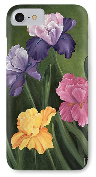 Lill's Garden IPhone Case by Carol Sweetwood