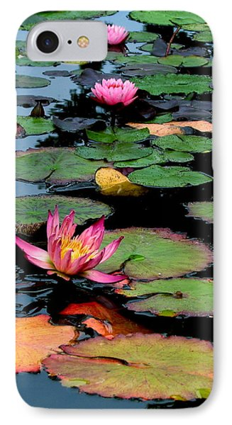 IPhone Case featuring the photograph Lilly Pads by Jan Cipolla