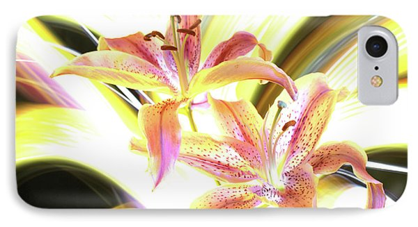 Lily Burst IPhone Case by Andrew Nourse