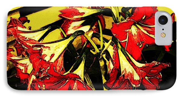 IPhone Case featuring the digital art Lily Gem by Winsome Gunning