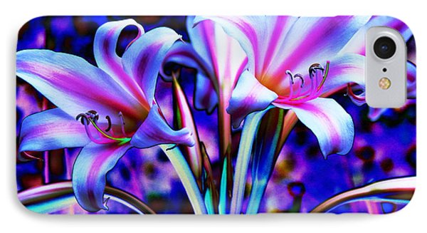 Lily Glow Abstract IPhone Case