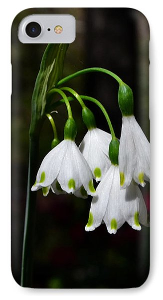 Lily Of The Valley 003 IPhone Case by George Bostian