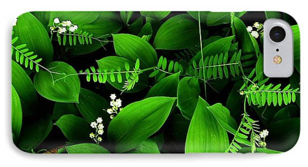Lily Of The Valley IPhone Case by Elfriede Fulda