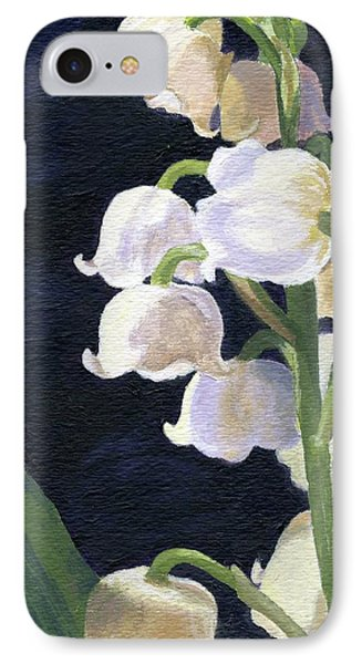Lily Of The Valley Phone Case by Lynne Reichhart