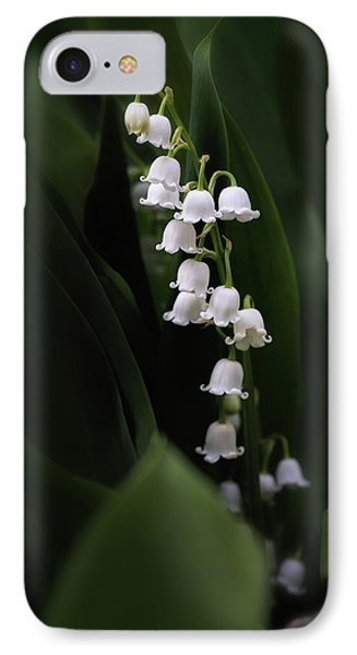 Lily iPhone 7 Case - Lily Of The Valley by Tom Mc Nemar