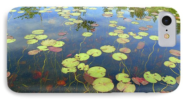 Lily Pads And Reflections IPhone Case