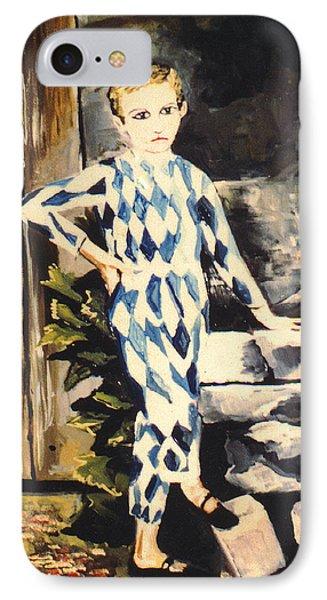 Lily Pierrot Phone Case by John Keaton