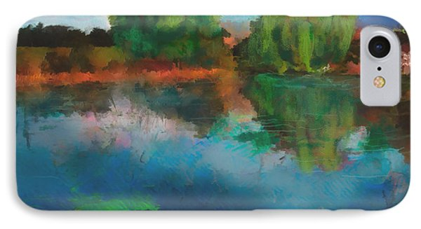 Lily Pond A La Torrie IPhone Case