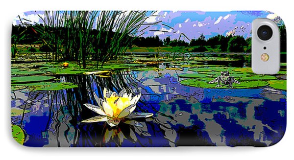 Lily Pond IPhone Case by Charles Shoup