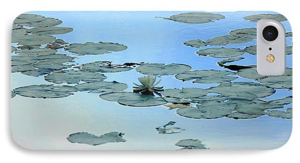 IPhone Case featuring the photograph Lily Pond by Daun Soden-Greene