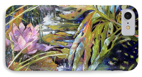 Lily Pond Light Dance Phone Case by Rae Andrews