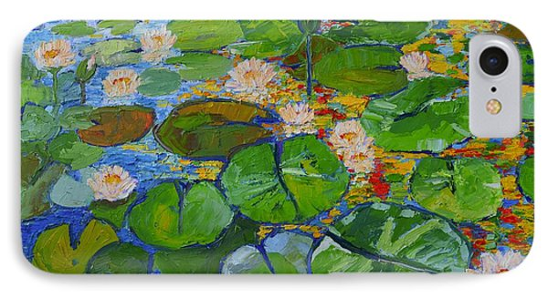 Lily Pond Reflections Phone Case by Ana Maria Edulescu
