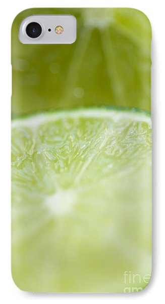 Lime Cut Phone Case by Ray Laskowitz - Printscapes