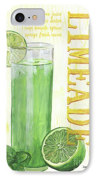 IPhone Case featuring the painting Limeade by Debbie DeWitt
