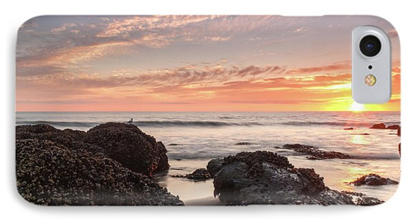Lincoln City Beach Sunset - Oregon Coast Phone Case by Brian Harig