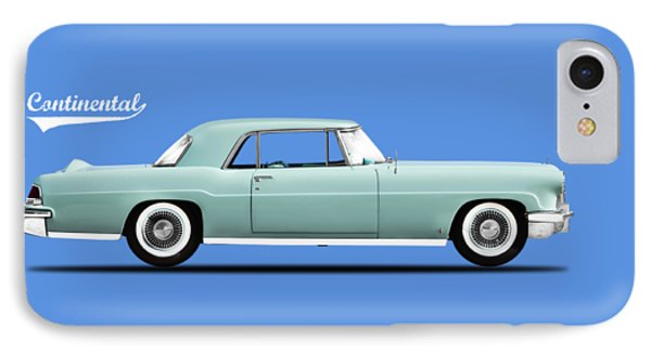 Lincoln Continental Mk2 1956 IPhone Case by Mark Rogan