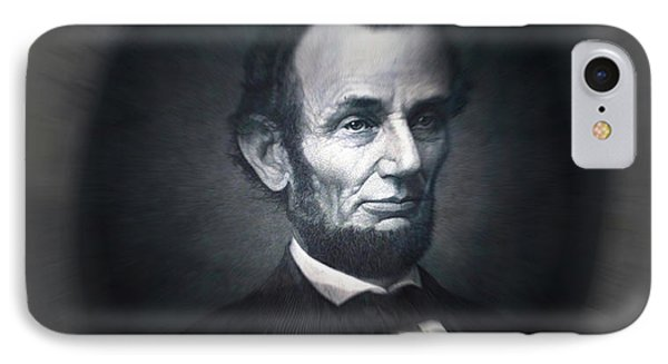Lincoln Forever In Our Minds Eye IPhone Case