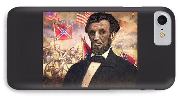 Lincoln IPhone Case by Mark Allen