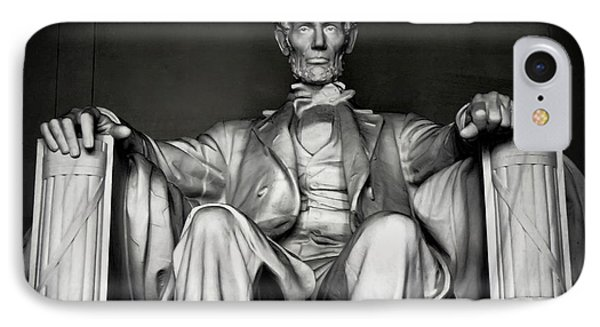 Lincoln Memorial Phone Case by Daniel Hagerman