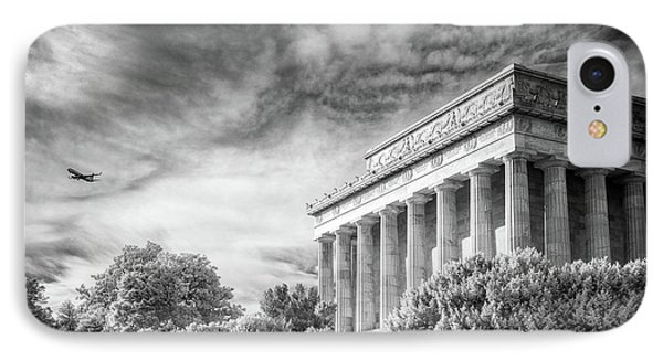 Lincoln Memorial IPhone Case by Paul Seymour