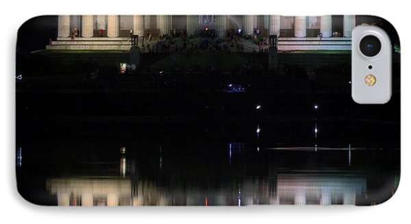 Lincoln Memorial Reflections IPhone Case by Christopher Duncan