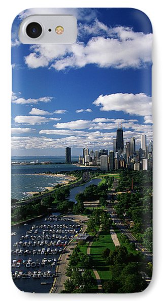 Lincoln Park And Diversey Harbor IPhone Case