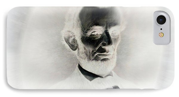 Lincoln Portrait Inverted Image IPhone Case