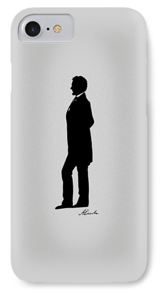 Lincoln Silhouette And Signature IPhone 7 Case