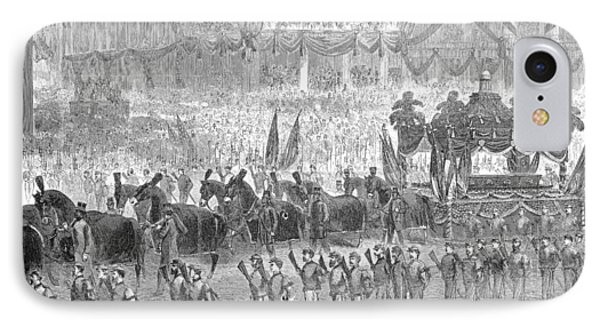 Lincolns Funeral, 1865 Phone Case by Granger