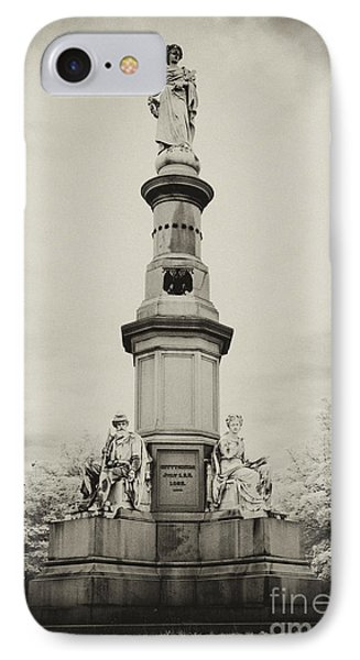 Lincolns Gettysburg Address Site - Toned IPhone Case by Paul W Faust -  Impressions of Light