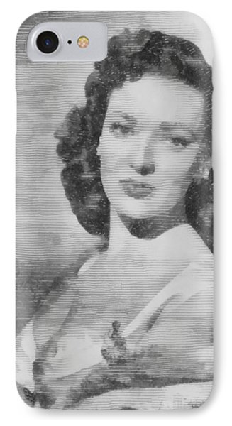 Linda Darnell, Actor IPhone Case by John Springfield